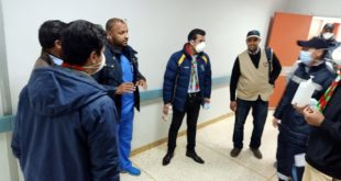 Scouts and Guides of Marrakech in partnership with technicians of University Hospital Center Mohamed VI in a sensitization campaign against the new Corona Virus